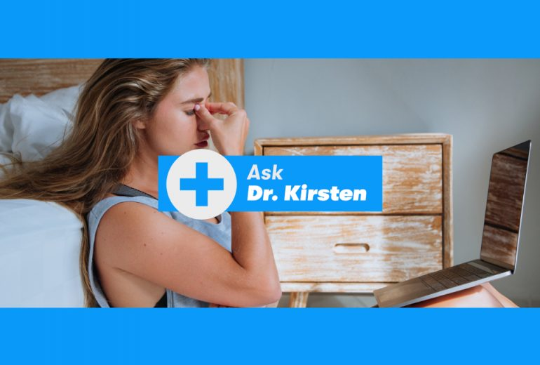 Ask dr. Kirsten template
